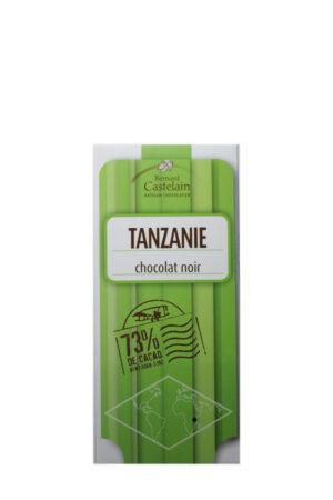 TANZANIE 73% chokolade, Chocolat-Castelain