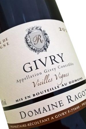 Bourgogne Domaine RAGOT - Givry Vieilles Vignes